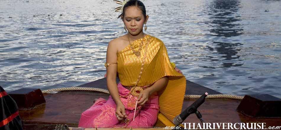 ลอยนาวา ดินเนอร์ ครูซส์  โชว์บรรเลงขิม เพลงไทย ที่หยังถึงอััตตลักษณ์ แห่งความเป็นไทย อย่างแท้จริง การบรรเลง ขิมเดี่ยว เพลงไทย ๆ
