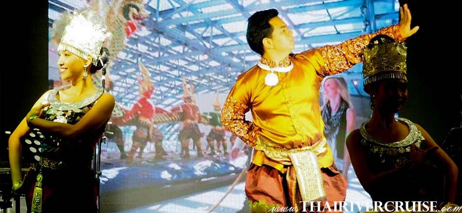 สุดประทับใจ ในการแสดง โชว์นาฎศิลป์ แห่งความเป็นไทย พร้อม แสงสีแสียงตระการตา บน เรือสำราญ หรู แห่ง เจ้าพระยา อลังกา ครูซ