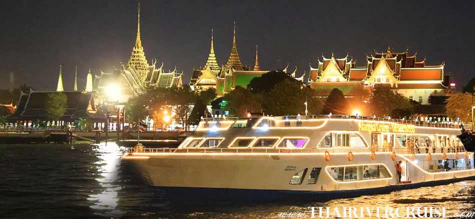 Alangka CruiseElegance Luxury Bangkok Dinner Cruise Chaophraya River,Thailand