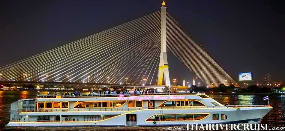 Alangka Cruise Luxury Bangkok Dinner Cruise Chaophraya River
