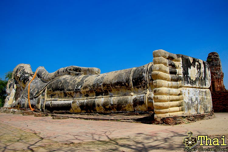 Wat Lokayasutharam, Ayutthaya ( Big Temple of the Reclining Buddha )