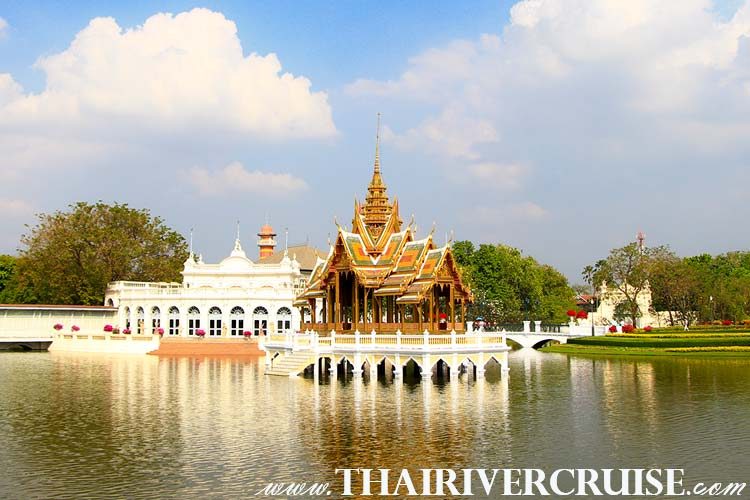 Bang Pa-In Royal Palace, also known as the Summer Palace, is a palace complex formerly used by the Thai kings