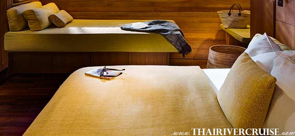 The Elegance Luxury 2 Cabin of Boat with Rooms Bangkok