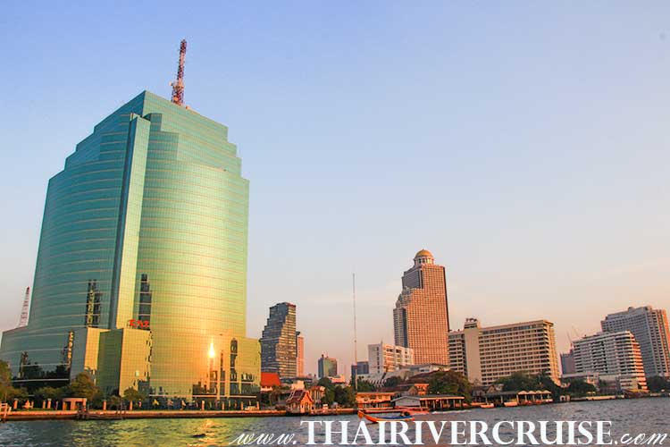 Five Star Hotel Chaophraya River,Bangkok Sightseeing Tour with River Cruise Trip