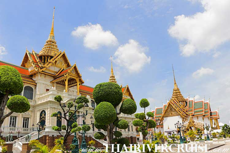 Grand Palace Bangkok Sightseeing Tour with River Cruise Trip