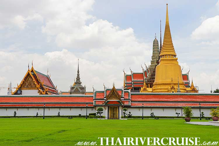 Grand Palace,Bangkok Sightseeing Tour with River Cruise Trip