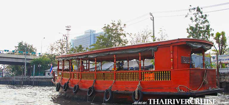 Bangkok Canal Tour by Rice Barge Boat River Cruise