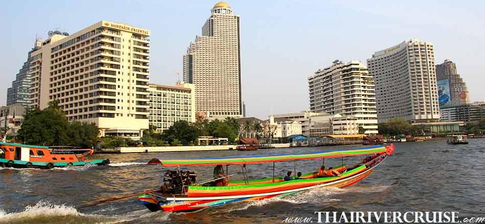 Best tour safely during the coronavirus in Bangkok Thailand  Longtail Boat Bangkok Klong Tour Thonburi Canal Trip alongChaophraya River Bangkok Thailand