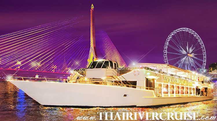 Chao Phraya Cruise is  5 Star Luxury Chaophraya Dinner Cruise Bangkok in Thailand