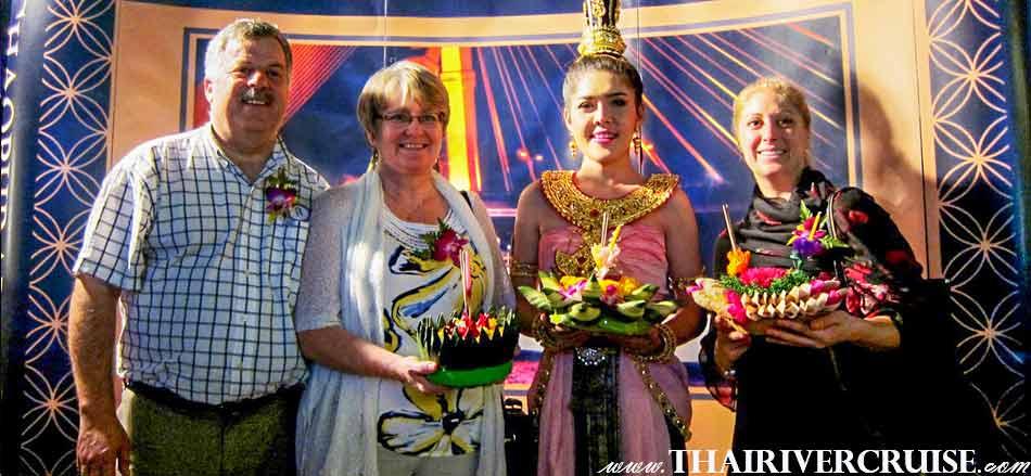 Loi Krathong Festival Bangkok on Chaophraya Cruise & Grand Chaophraya Cruise