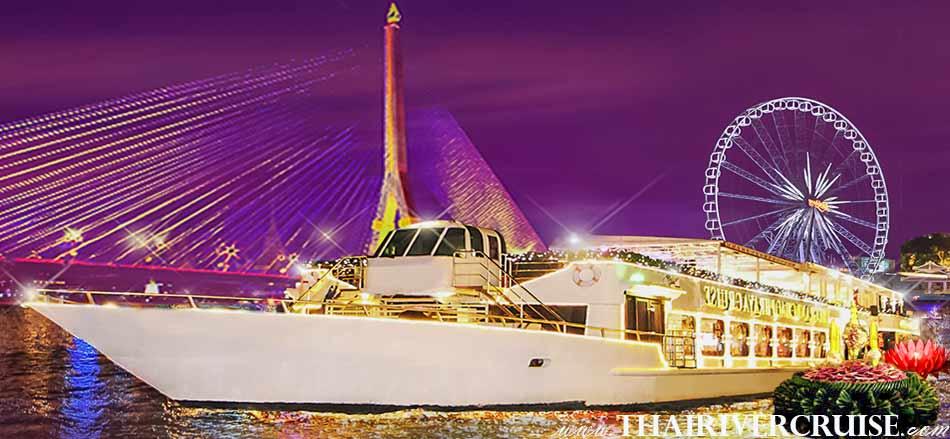 Loi Krathong Festival Bangkok Dinner Cruise by Chaophraya Cruise Thailand