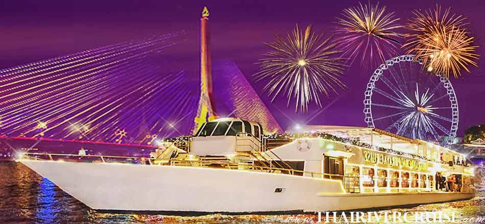 Chaophraya Cruise New Year Dinner River Cruise Bangkok Thailand