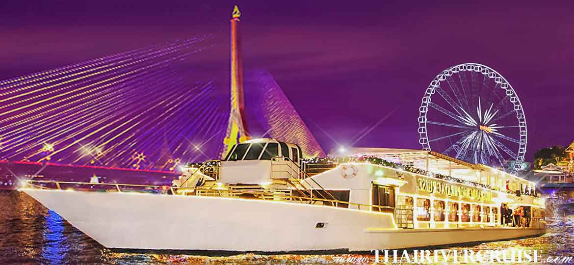 Chaophraya Cruise,Grand Chaophraya Cruise is 5 star luxury Chaophraya dinner cruise,Bangkok Dinner Cruise on The Chao Phraya Rive
