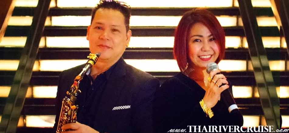 Profession singer entertainer will take care and get romantic love song to you on board Chaophraya Princess Cruise