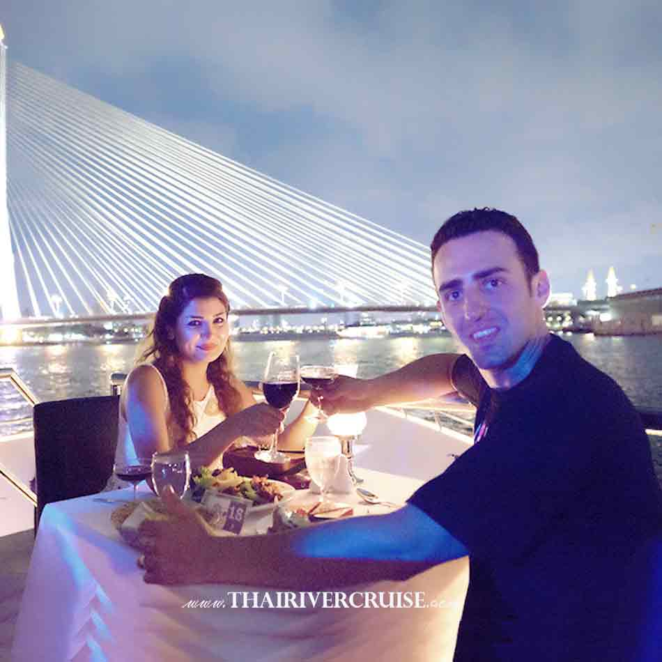 Chao Phraya Princess Cruise Dinner River Cruise Bangkok,Thailand