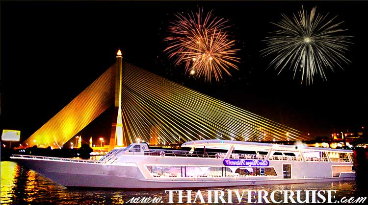 New Year EVE Bangkok River Cruise Bangkok Thailand by Chaophraya Princess Cruise