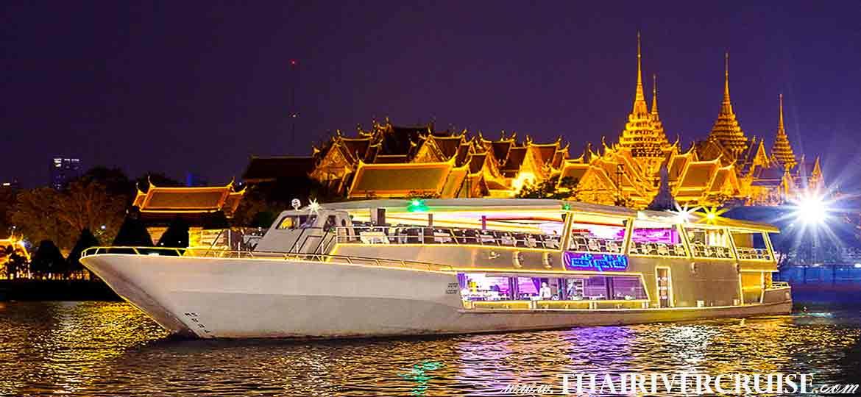 Chaophraya Princess Cruise Chao Phraya River Dinner Cruise Bangkok Dinner Cruise Bangkok Thailand