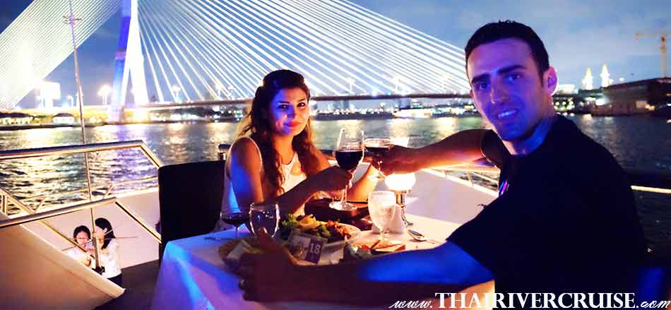 Amazing Countdown Dinner Cruise on board Celebrate New Year in Bangkok Thailand  New Year's Eve Dinner Chaophraya Princess Cruise,Celebrate New Year Bangkok Chaophraya Princess Cruise