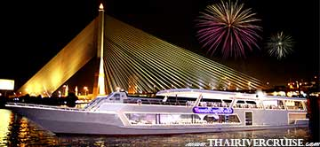Celebrate New Year in Bangkok New Year's Eve Dinner cruise by Chaophraya Princess Cruise