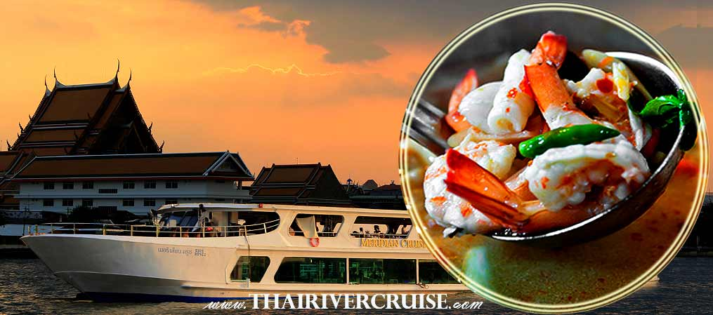 Meridian Sunset Dinner Cruise, Bangkok Dinner Cruise Promotion Discount Cheap Ticket Price Offers