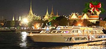 Christmas Eve Dinner Bangkok by Alangka River Cruise on Chaophraya River Bangkok Thailandby River Star Princess Cruise