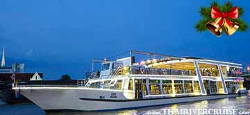 Christmas in Bangkok Thailand River Star Princess Cruise