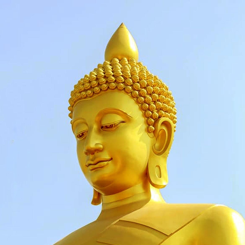 Dhammakaya Thep Mongkol Buddha Largest Buddha Statue in Bangkok Thailand