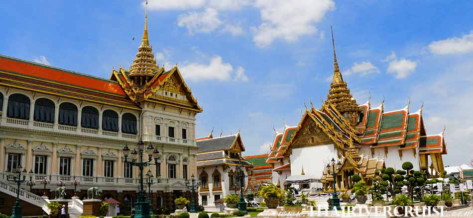 Grand Palace Tour with Lunch Cruise Bangkok River Cruise Tour Chaophraya River Thailand