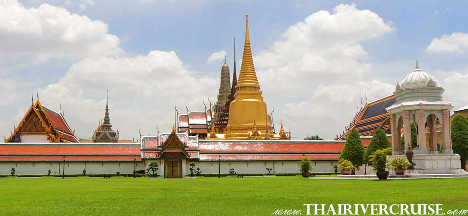Grand Palace Tour & Chaophraya River Lunch Cruise Bangkok Chaophraya River Thailand