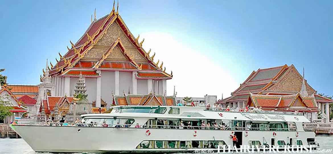 Ayutthaya River Cruise Tour by Grand Pearl Cruise with Buffet Lunch from Bangkok to Ayutthaya Thailand