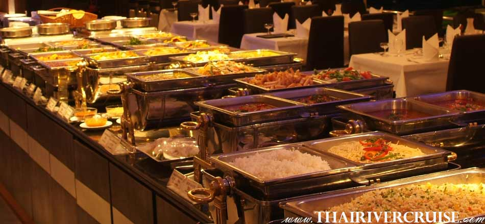 Indian Food Bangkok Indian Food Buffet Dinner Cruise Chaophraya River Bangkok Thailand