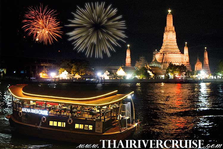 Indian New Year EVE 2018 Bangkok , Countdown Party Dinner Cruise by