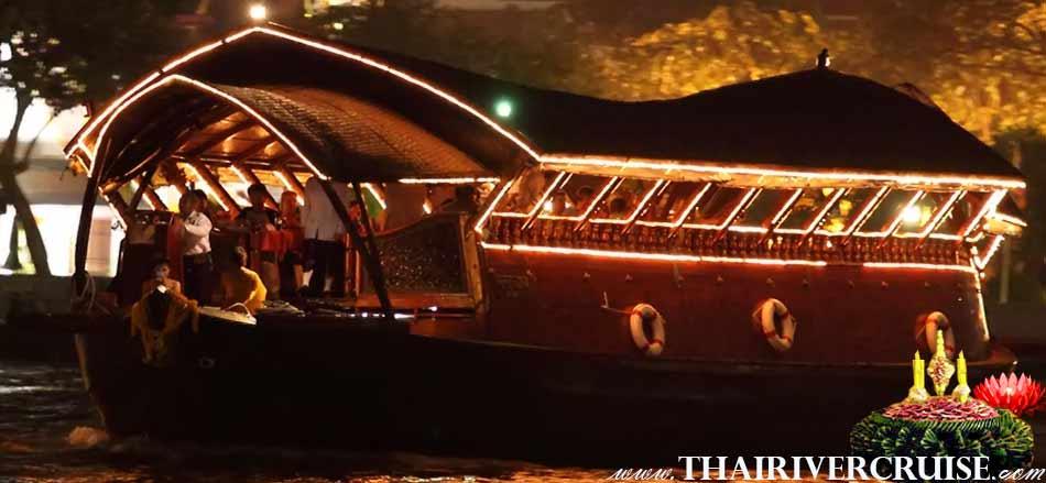 Celebrate Loy Krathong Bangkok Lantern Festival Loy Nava Cruise Bangkok Thailand