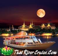 Chao Phraya Princess Cruise Loykrathong Dinner Cruise, Bangkok Thailand