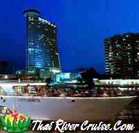 Grand Pearl Cruise - Loykratong Dinner Cruise Bangkok Thailand