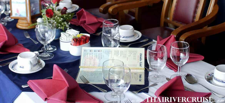 ล่องเรือ สำราญ แม่น้ำเจ้าพระยา พร้อม อาหารกลางวันชากาแฟ ชมวิว แม่น้ําเจ้าพระยา