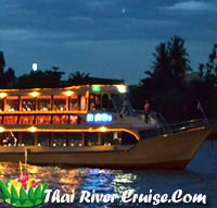 Bangkok Dinner Cruise on Loykratong Night by Ma-Siam River Curise