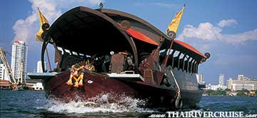 Manohra Cruises Luxury Rice Barge New Year River Cruise Bangkok