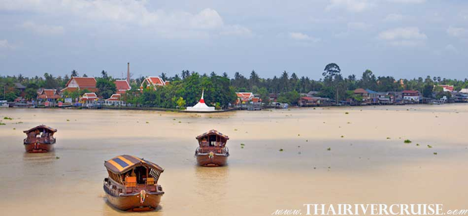 Mekhala Cruise, Koh Kred is a tiny island in the Chao Phraya River, located in Nonthaburi Province,  On this island