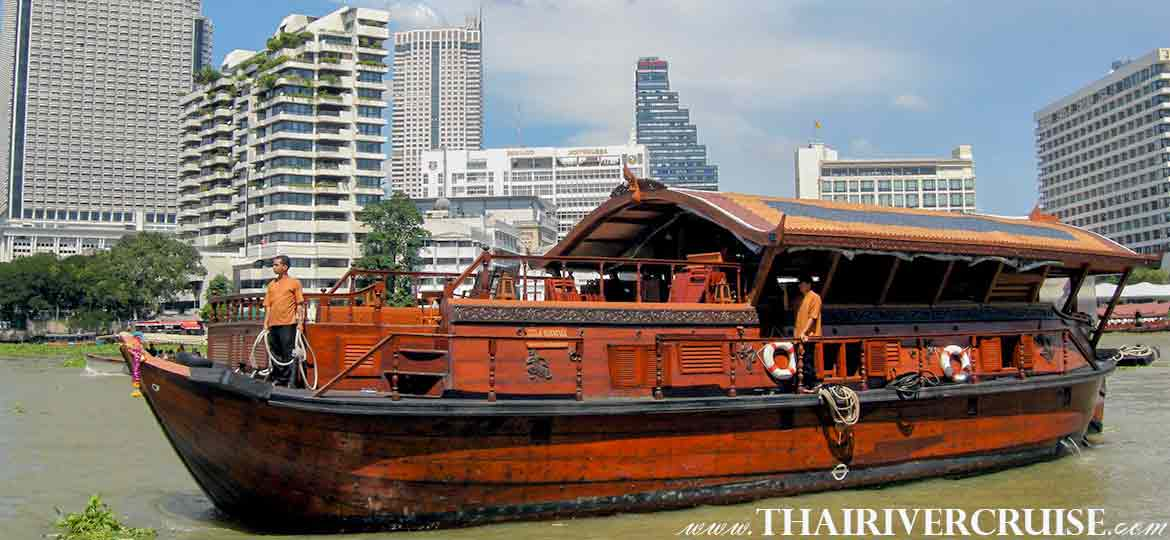 Mekhala Cruise Ayutthaya Overnight Cruise from Bangkok to Ayutthaya 2 Days 1 Night
