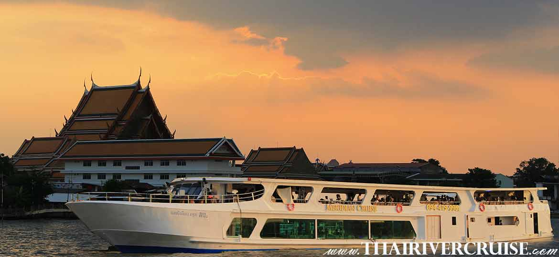 Meridian Cruise Bangkok Sunset Dinner Cruise on the Chao phraya river