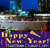 New Year Eve Bangkok 2014 Dinner Cruise by Grand Pearl Cruise