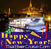 Bangkok New Year EVE 2014 Dinner Cruise by River Star Princess Cruise