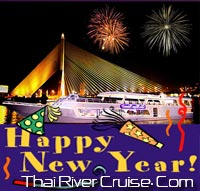 New years eve  Bangkok Dinner Cruise by Chao Phraya Princess