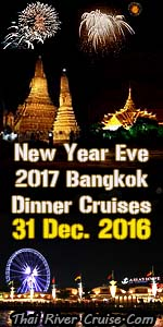 New Year EVE 2017 Dinner Cruise Bangkok Thailand