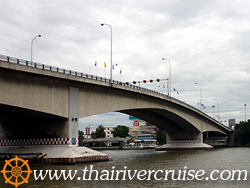 สะพานปิ่นเกล้า,ล่องเรือ แม่น้ำเจ้าพระยา เที่ยวอยุธยาเต็มวัน พร้อมอาหารกลางวัน บุฟเฟ่ท์นานาชาติ ชา กาแฟ