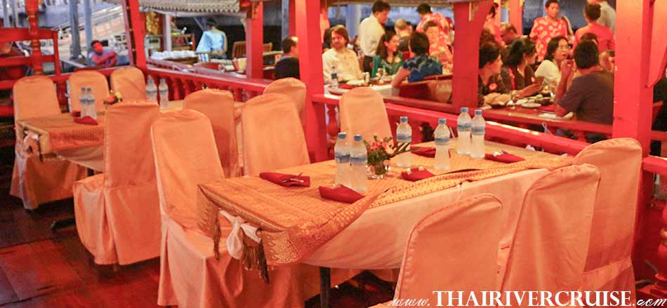 Small Party Boat Bangkok Private Dinner River Cruise Thailand