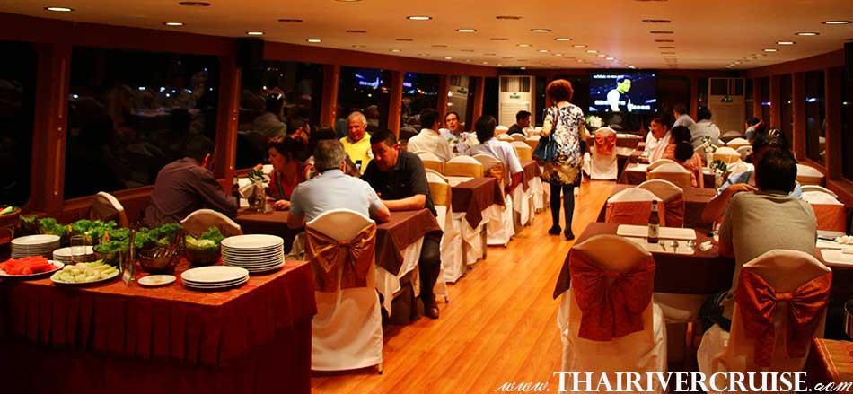 Private Charter Cruise Bangkok Dinner Chaophraya River Cruise Thailand
