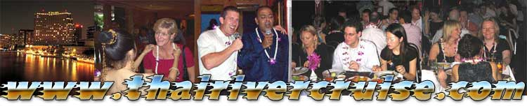 Private Party Dinner Cruise Bangkok,Thailand