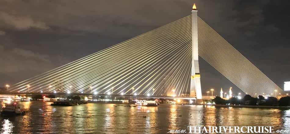 สะพานพระราม 8 เป็น สะพานข้ามแม่น้ำเจ้าพระยา แห่งที่ 13 ในเขตกรุงเทพมหานครและปริมณฑล มีแนวสายทางเชื่อมต่อกับทางคู่ขนานลอยฟ้าบรมราชชนนี ข้ามแม่น้ำเจ้าพระยา